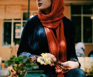 girls, hijab, and iran image