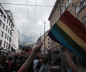 rainbow, pride, and lgbt image