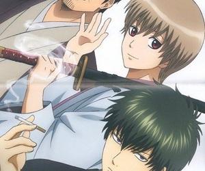 anime, gintama, and toushiro hijikata image