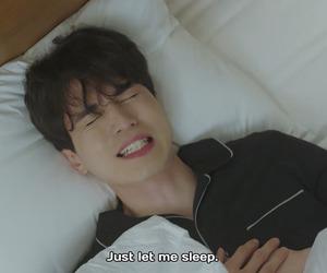 goblin, sleep, and kdrama image