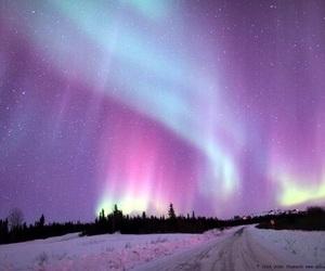 sky, nature, and purple image