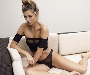 bikini, black, and tumblr image