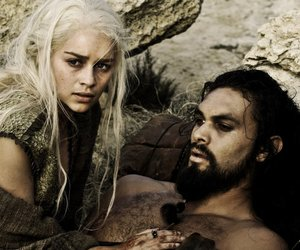 game of thrones, daenerys, and khal image