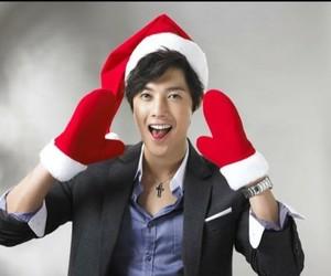 kim hyun joong, merry christmas, and new year image
