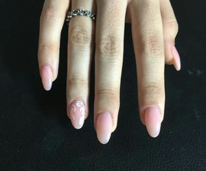 gel, hands, and nail art image
