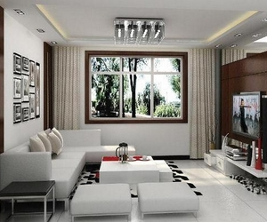 living room and home image