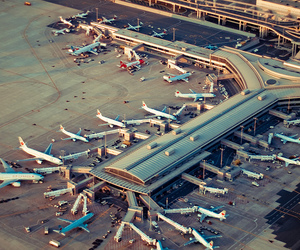 airplanes, airport, and planes image