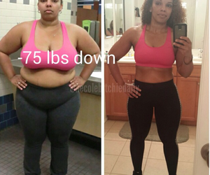 after, before, and woman image