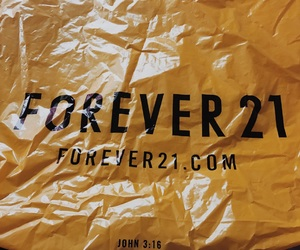 bag, forever 21, and shopping image