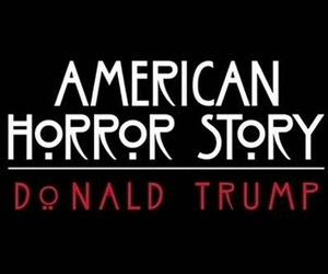 american horror story, donald trump, and ahs image