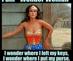 funny, wonder woman, and memes image