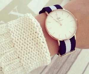 watch, daniel wellington, and white image