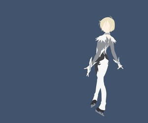 anime, minimalist, and yuri on ice image