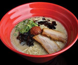 japanese food, noodles, and pork image