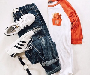 adidas, outfit, and ootd image