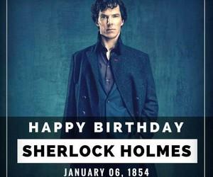 bbc, happy birthday, and sherlock image