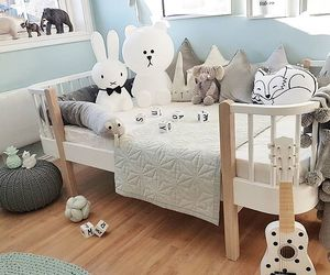 baby, baby room, and nursery image