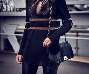 fashion, outfit, and chanel image