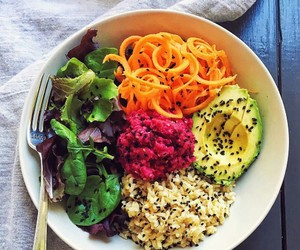 dinner, fitness, and foods image