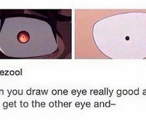 anime, draw, and funny image