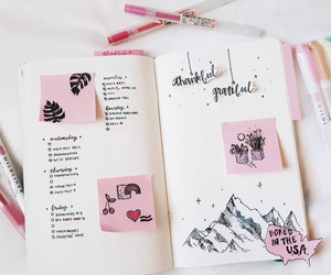 college, motivation, and pink image