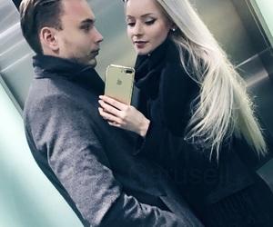 blonde, boy, and coat image