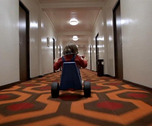carpet, tricycle, and theshining image