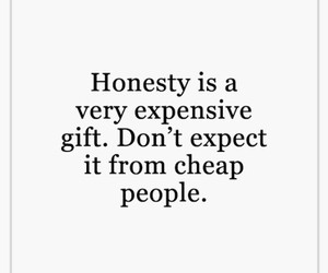 honesty, life, and quotes image