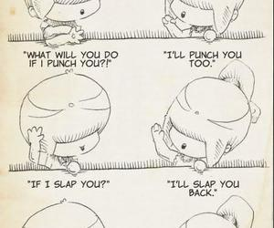 punch, slap, and love image