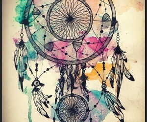 colorful and dreamcatcher image