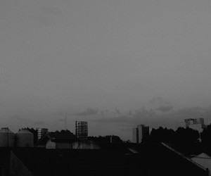 black, city, and grey image