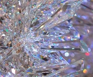 wallpaper, crystal, and diamond image