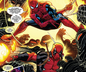 comics, Marvel, and peter parker image