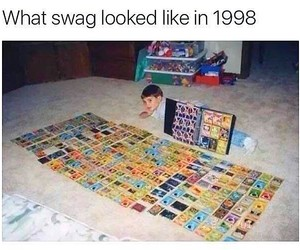 funny, swag, and lol image