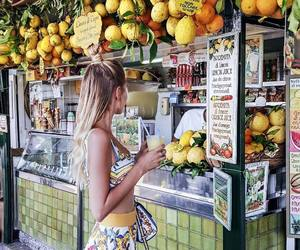 girl, travelling, and tropical image