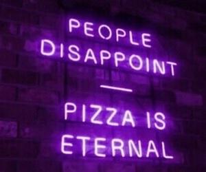 bright, pizza, and purple image