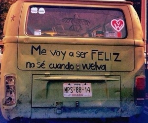 feliz, happy, and frases image