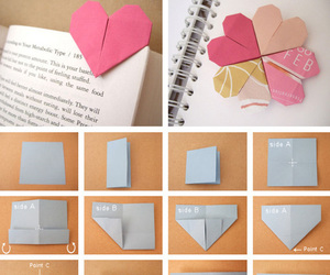 diy, heart, and book image