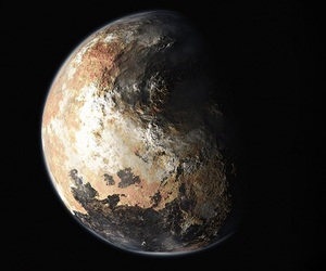 planet and pluto image