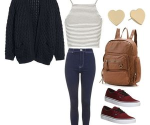 casual, college, and fashion image