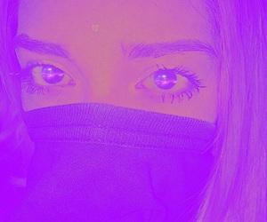 alien, eyes, and ultraviolet image