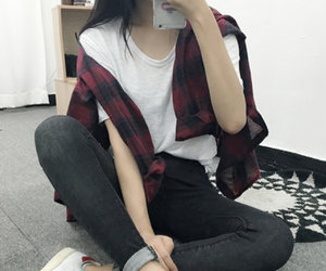 girl, tumblr, and kstyle image
