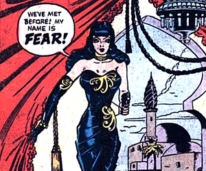 comic, fear, and vintage image