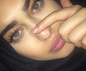allah, eyes, and green eyes image
