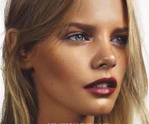fashion, model, and make up image