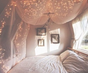 bedroom, sweet, and cool image