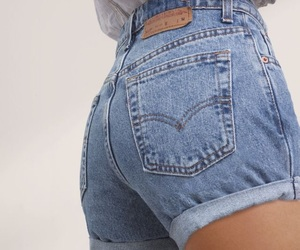 denim, shorts, and jeans image