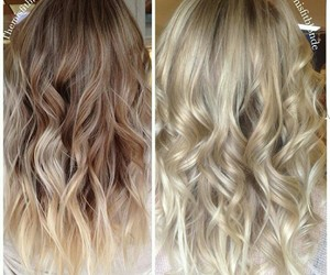 blonde ombre hair image