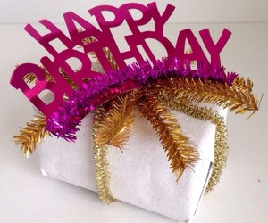 gift, happy birthday, and ideas image