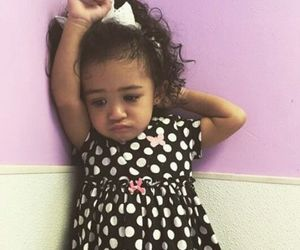 chris brown, baby, and royalty image
